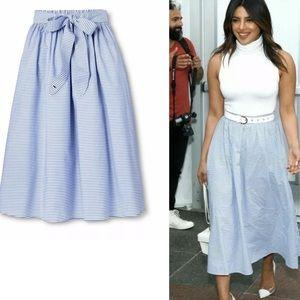 Vineyard Vines for Target Striped Midi Skirt
